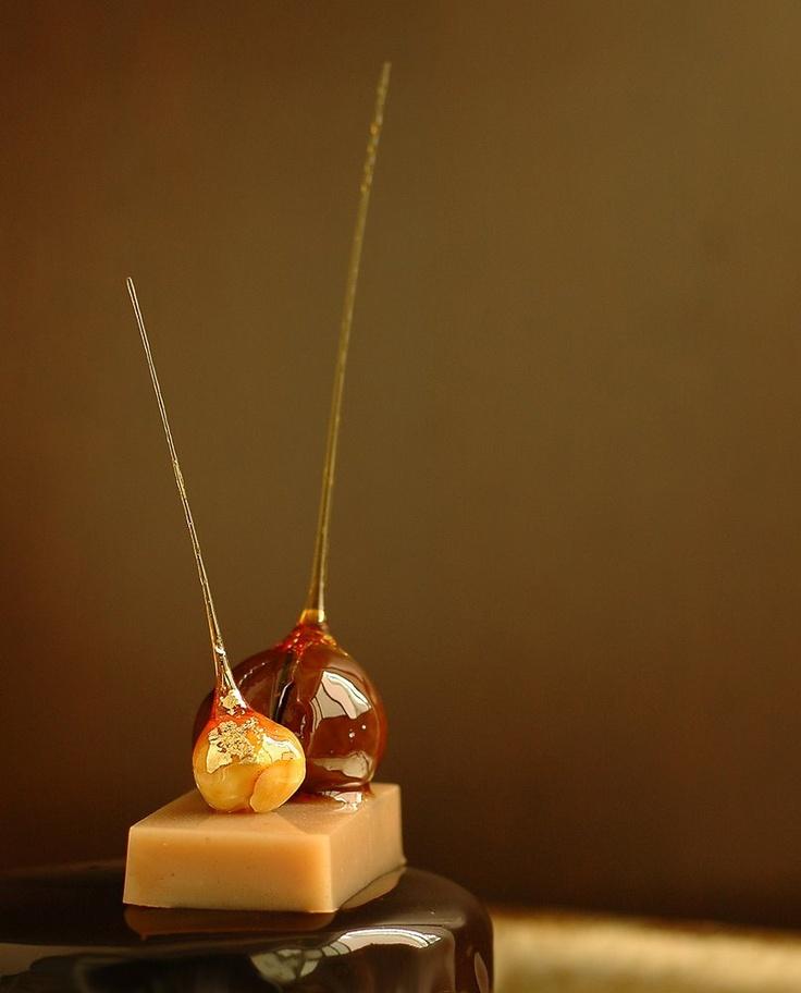 A Pair of Paco Torreblanca Desserts