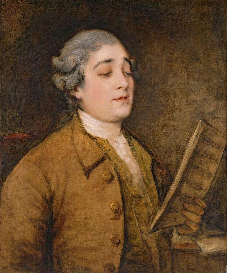 Giusto Ferdinando Tenducci, Thomas Gainsborough, 1773
