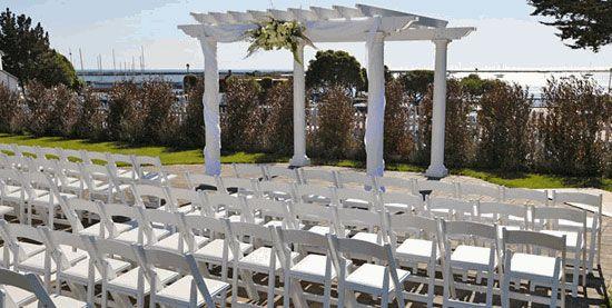 Oceano Hotel & Spa Outdoor Wedding Location - Pillar Point Harbor