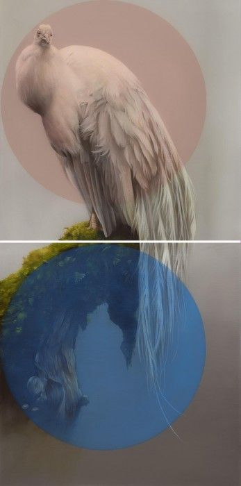 Sam Leach | Peacock with double object | SSFA