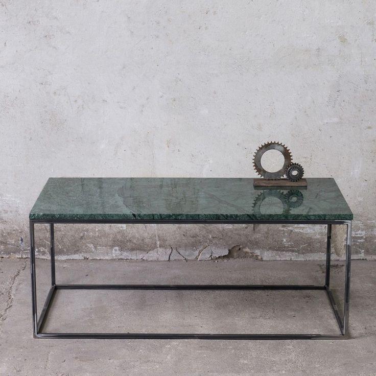RANA long Couchtisch grüner Marmor // Coffee table green marble | NOTORIA