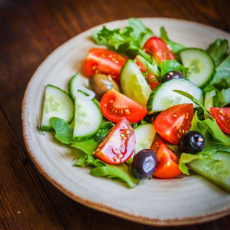 #salad #greens #vegetables - #crunchycurator