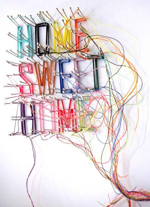 Home sweet homeWall Art, Sweets Home, Ideas, Diy Art, Crafts Room, String Art, Diy Home, Stringart, Design