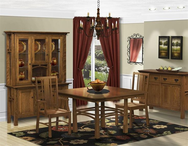 Dining Room Furniture Hutch Cool 916 Best Amish Dining Tables Images On Pinterest  Dining Room Review