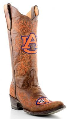 Auburn University Game Day Boots- $399. call (281)240-0752 or (281)251-8844 to order.