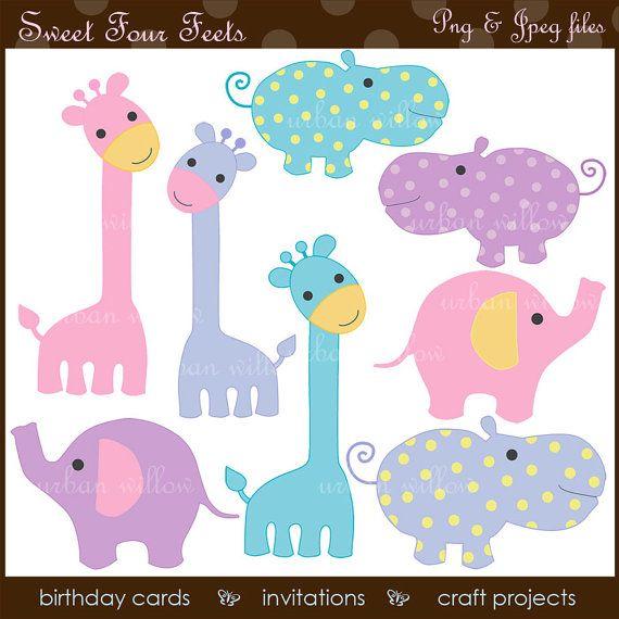 INSTANT DOWNLOAD Sweet Four Feets. Clip art by LittlePumpkinsPix, $5.00