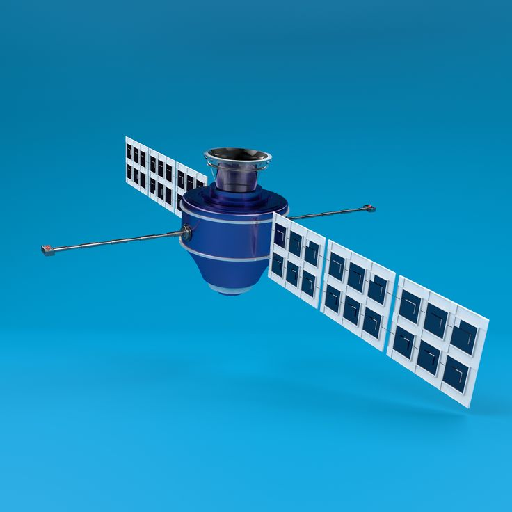 Part 3 (3d model Satellite) for moon project.