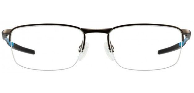 Oakley OX3174 Size:53 Matte Gunmetal Sky Blue 06 Eyeglasses