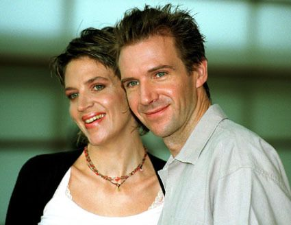 Martha and Raiph Fiennes
