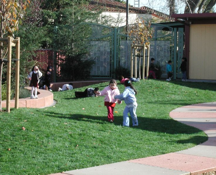 Preschool Yard By Carducci Amp Associates Gentle Grass
