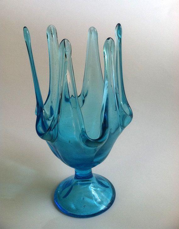 80 Best Images About Vintage Glassware Vases On Pinterest Vintage Pedestal And 1960s