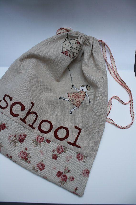 Kindergarten bag by NotOnlyTeddy on Etsy, €24.00
