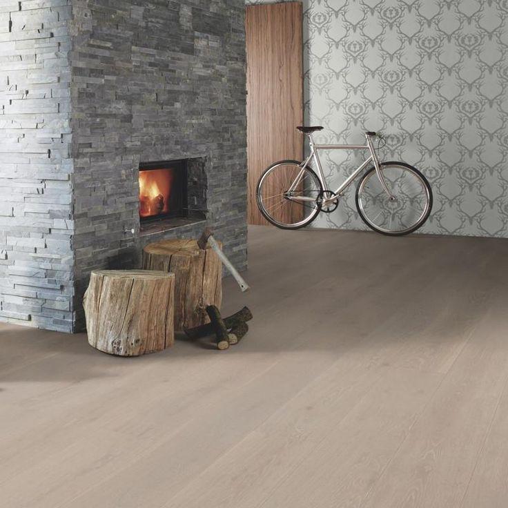 Boen 14mm Clic Wide-Plank Oak Grey Harmony | OnFlooring