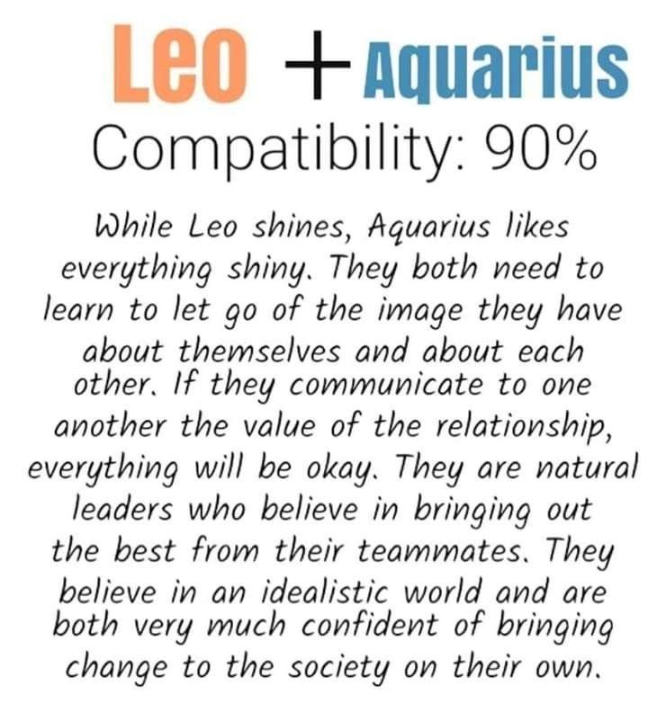 compatibilitate cu dragoste leo aquarius | - știri