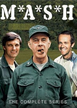 M*A*S*H-  Probably the BEST TV show ever produced.  The ensemble cast fluctuated a bit over the years, but the acting was second to none.  The show about the Korean War ended up lasting longer than the actual war; and with better results.  This is one for the history books, folks.