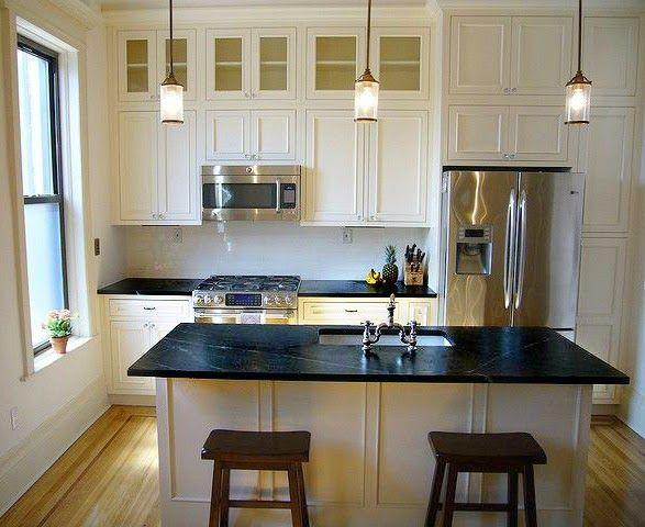antique white cabinets soapstone countertops subway tile backsplash google search kitchen. Black Bedroom Furniture Sets. Home Design Ideas
