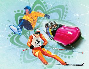 The Science of the Olympic Winter Games