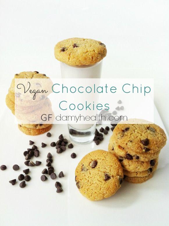 Vegan Chocolate Chip Cookies (GF) | Vegan Chocolate Chip Cookies ...