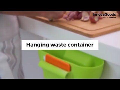 InnovaGoods Abfallbehälter Zum Aufhängen
