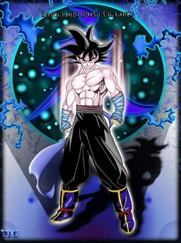 Goku Super Saiyan Evil Goku | Evil goku 2.jpeg