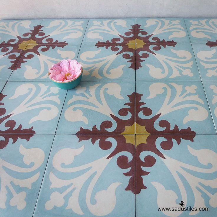 Sadus Tiles handmade cement tiles from Bali - Indonesia