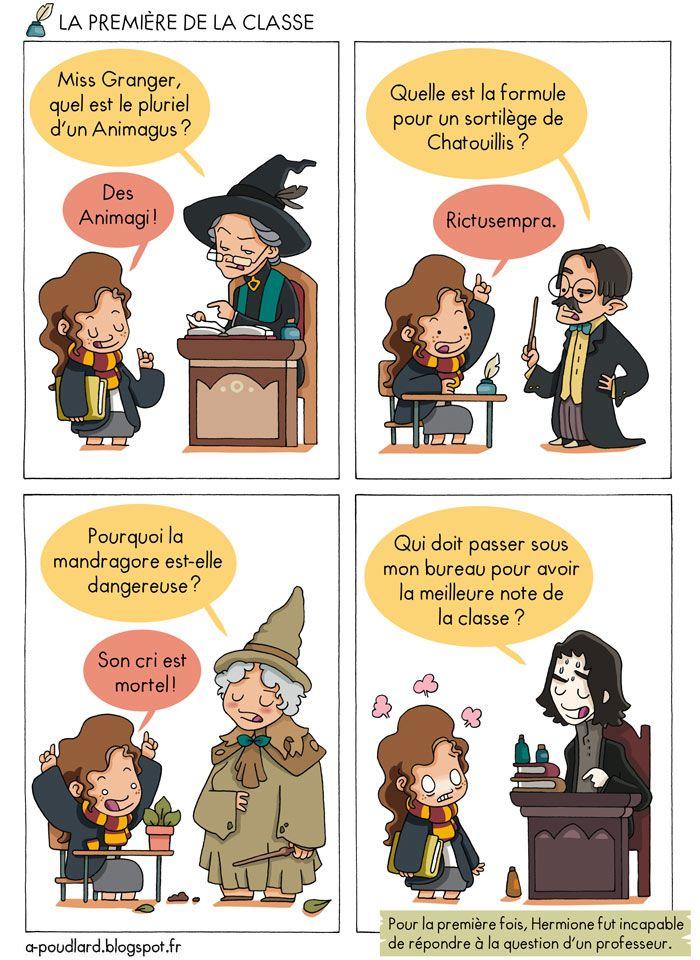 À Poudlard - Blog BD Harry Potter Sandre Lepile