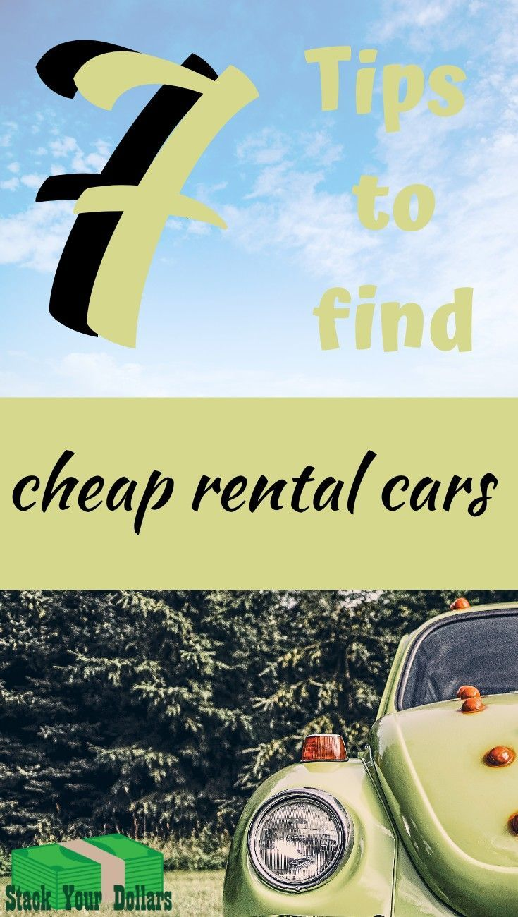 Need A Cheap Car Rental In My Frugal Life These Are The Tricks I