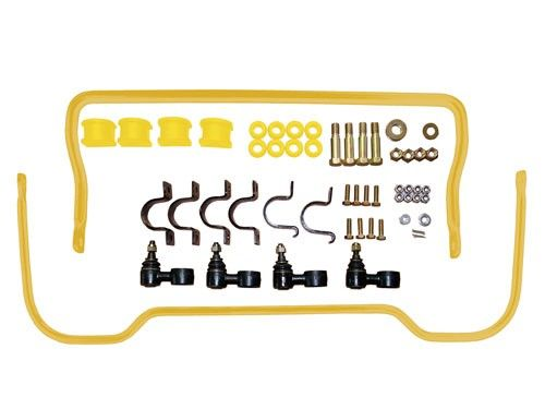 Anti Roll Bar Kit - Front and Rear - polyurethane bushes