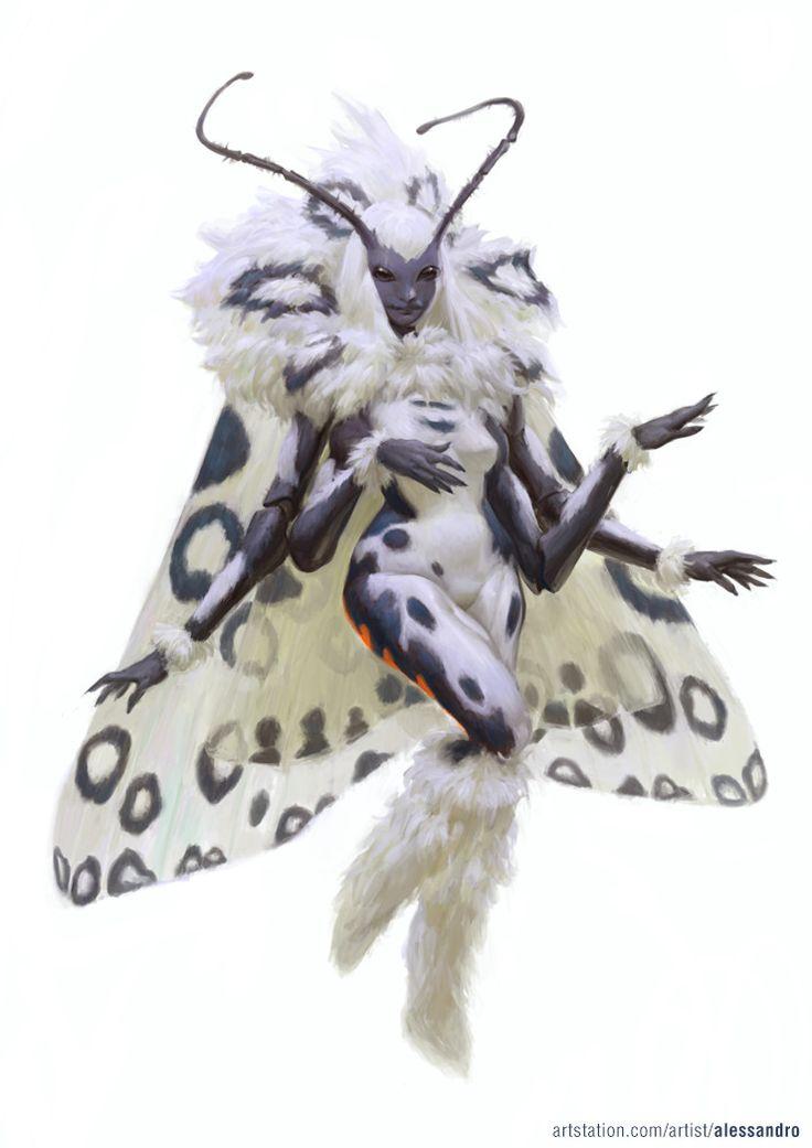 Moth Fairy, Alessandro Poli on ArtStation at…