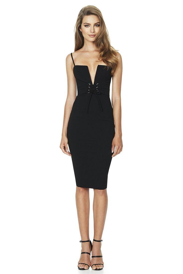 Nookie - Madison Midi Dress - Black