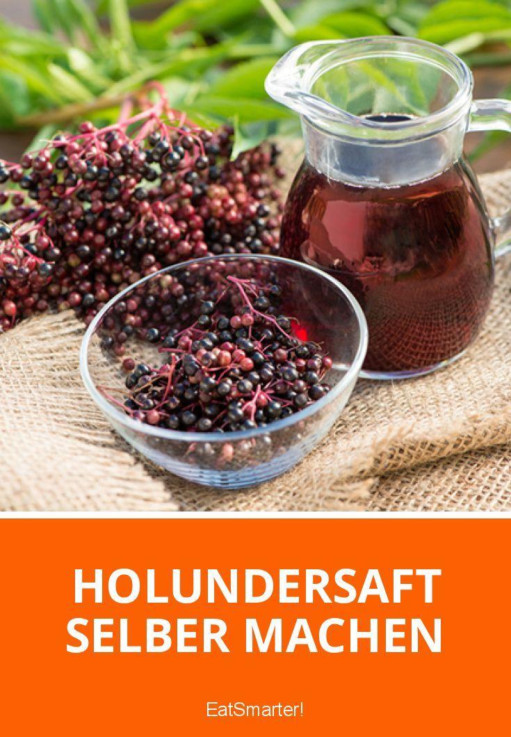Holundersaft selber machen | eatsmarter.de