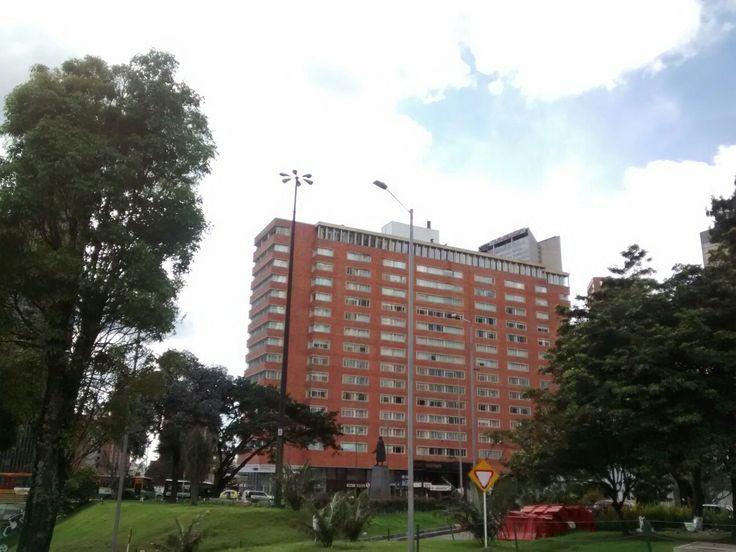 Hotel Tequendama, de la carrera Decima con calle 26 del Centro internacional San Diego, en Bogotá.