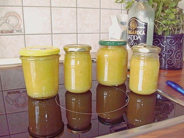 Ananas - Kokos - Marmelade (Rezept mit Bild) von Chaosmutti | Chefkoch.de