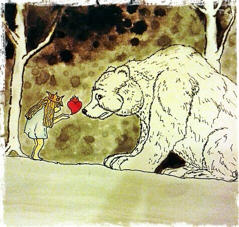White bear king valemon Norwegian fary tale