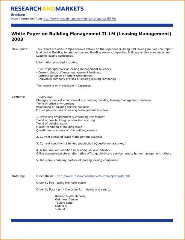 White Paper Outline Dengan Gambar