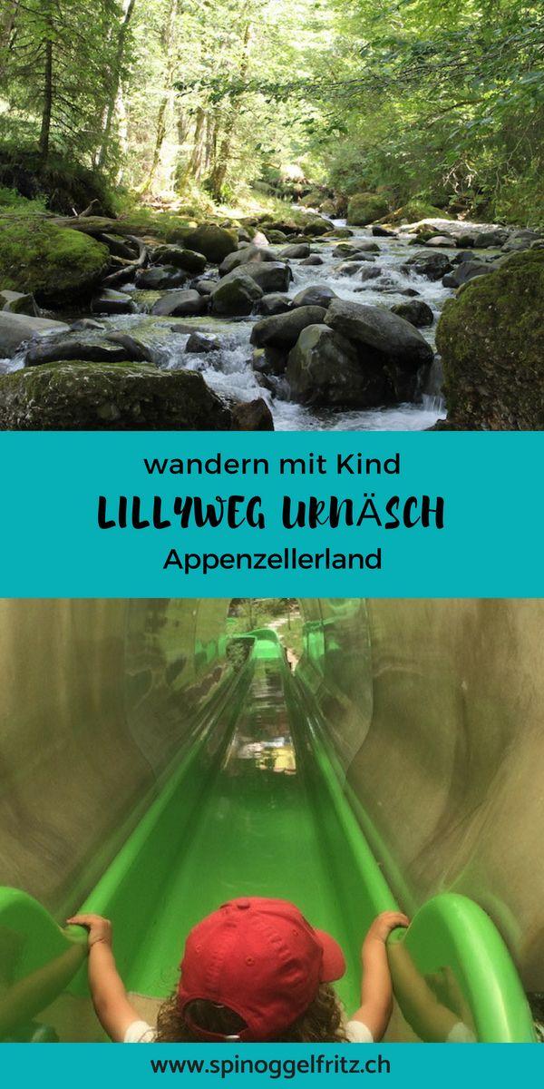 Familienwanderung: Lillyweg Urnäsch – Ausflugsziel im Appenzellerland