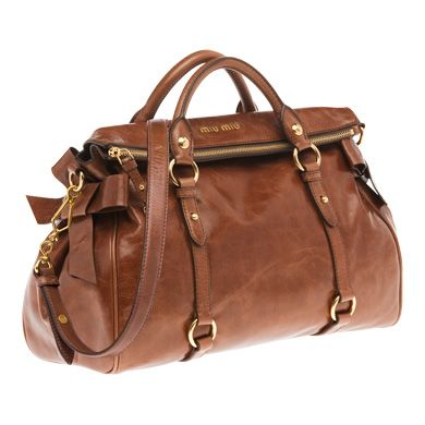 Miu Miu Bow Bag in Rosewood