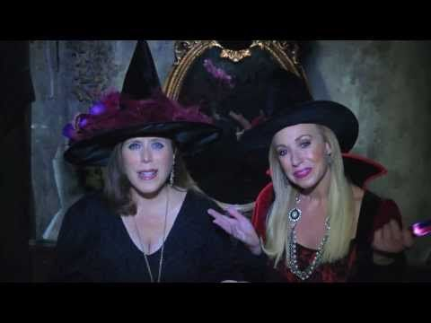 """Get a big Scream! DO NOT MISS our Halloween Show: """"Live Love Laugh Today"""" TV Show with Linda Cooper and Susie McAuley watch on WFAA Channel 8 right here on ABC network on October 20th, 2013 at 11 am Sunday! Susie and Linda at SlaughterHouse Haunted House"""