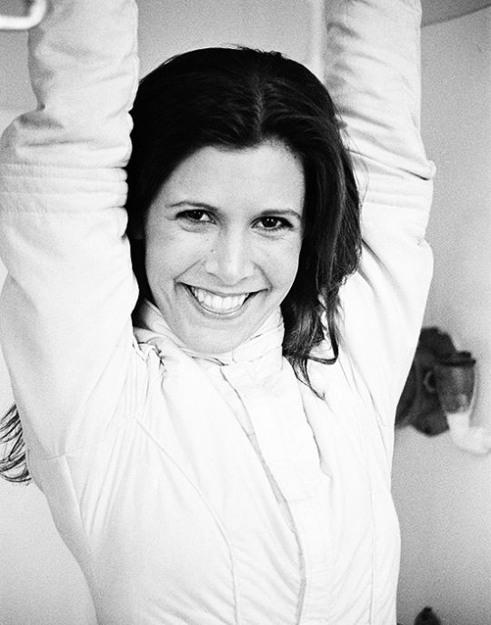 Carrie Fisher, Los Angeles, 1979
