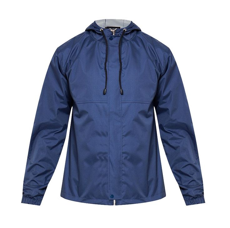 Stay dry with Tolliver Rain Coat With Hoodie Iii. Bold color with a simple design make this rain coat look so stylish, made of polyester, with navy blue color, long sleeve, zipper closure, front pocket for your gadget. http://www.zocko.com/z/JHHgd