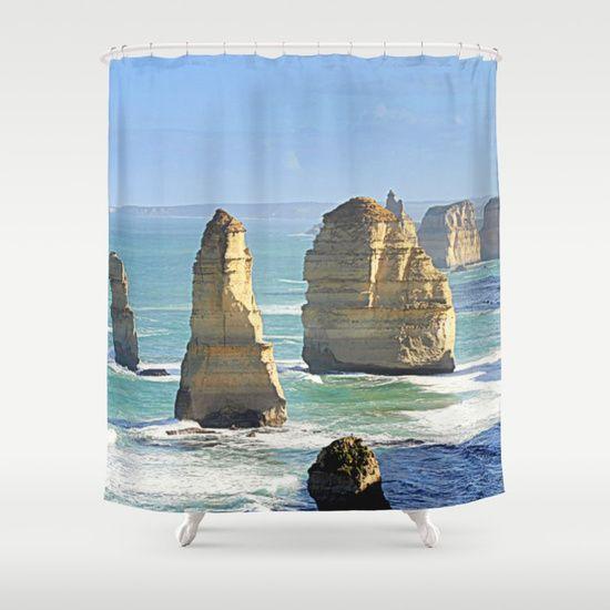 Earth's Evolution Shower Curtain