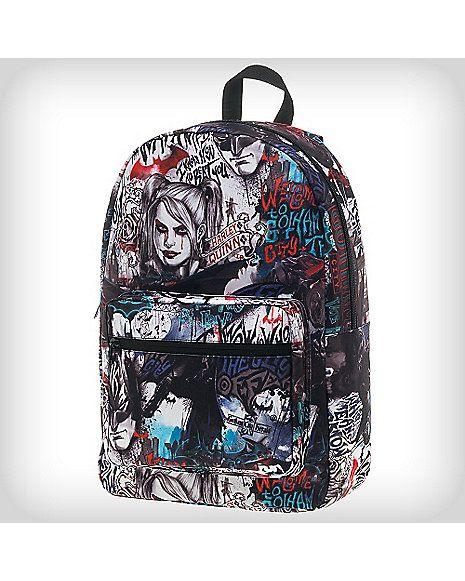 Arkham Knight Graffiti Backpack - Spencer's   backpacks ...