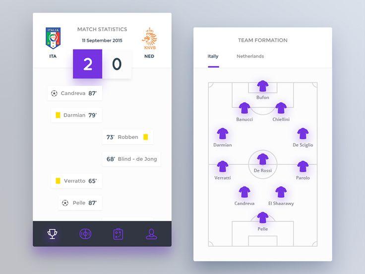 Day 075 - Football Application