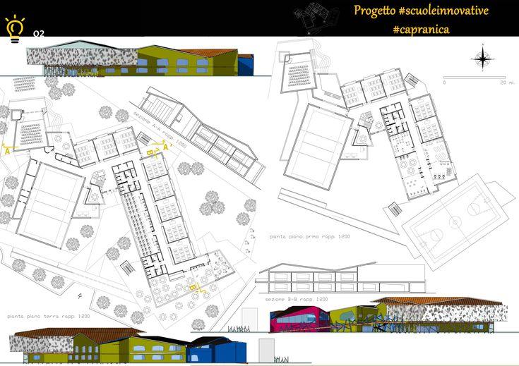 Concorso Scuole innovative: Arch. Alberto Giampaoli; Arch. Antonio Marco Alcaro; Arch. J. Giorgia Cocchi