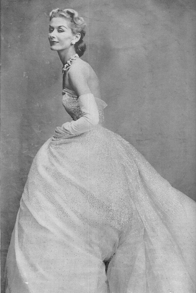 Lisa Fonssagrives, 1950: 1950S Ball Gowns, Additional Fonssagr, 1950 Evening Gowns, Vintage Wedding Gowns, Christian Dior, Vintage Fashion, Posts, 1950 S, 1950 1960