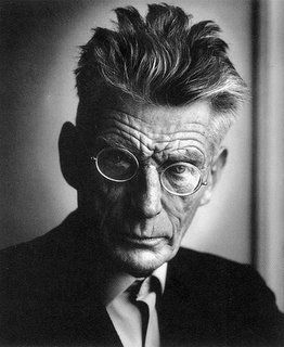 "Samuel Beckett- ""We are all born mad, some remain so."""
