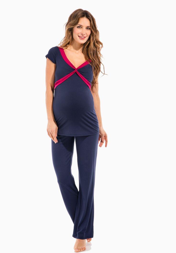 29,99 - CARLIE - Pyjama grossesse - Envie de Fraise