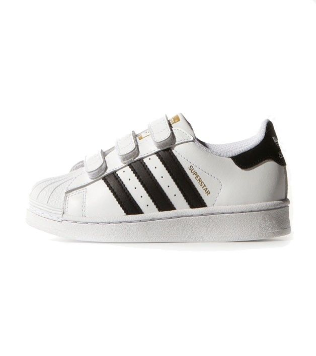 Inspired by the iconic basketball shoe, the adidas Originals Superstar  downsizes the classic just for little feet. These kids\u0027 shoes have a  leather upper ...