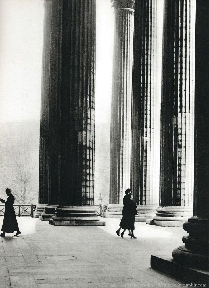 La Madeleine, Paris 1955 - Patrice Molinard