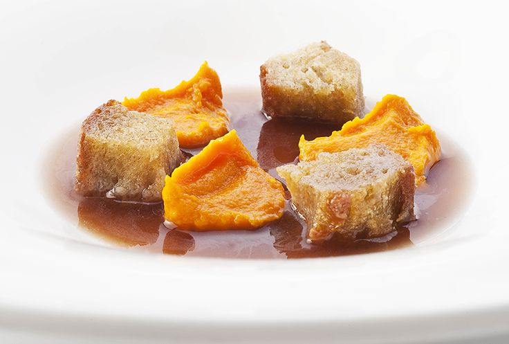 Niko Romito   foto Brambilla Serrani   Carote, olive e pane croccante